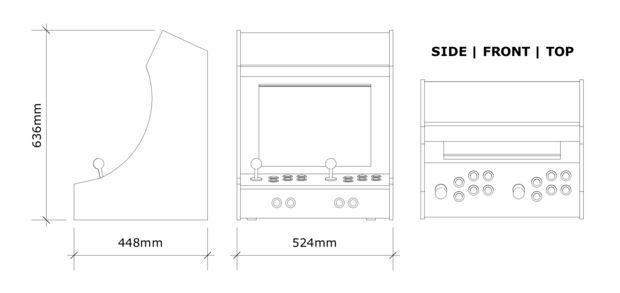 Retropie Arcade Cabinet